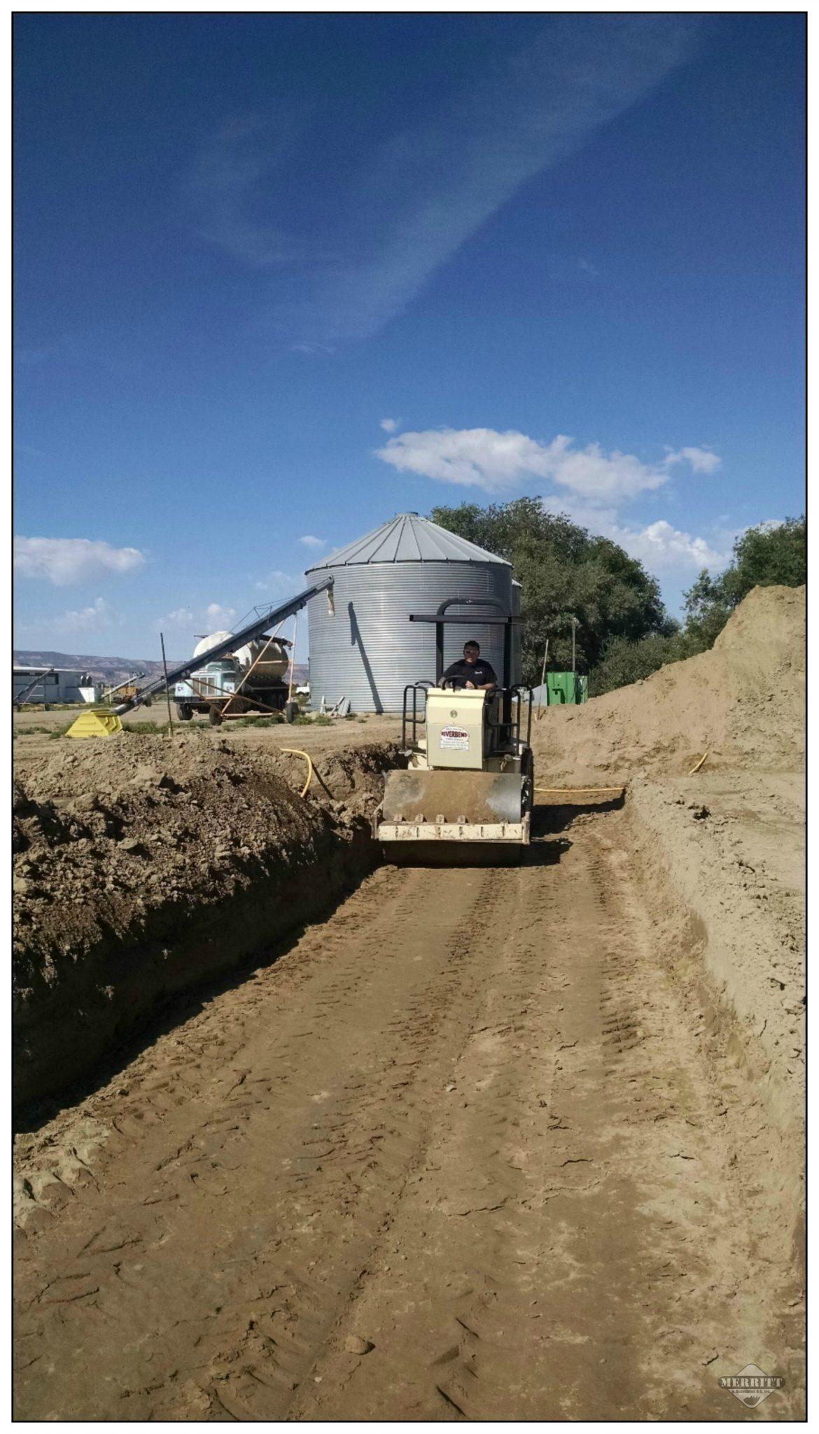 Excavation by Merritt and Associates G.C. Inc.