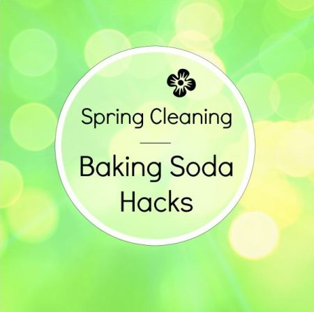 Tips on how to clean easier using baking soda