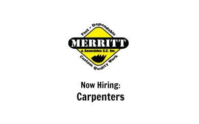 Now Hiring Carpenters