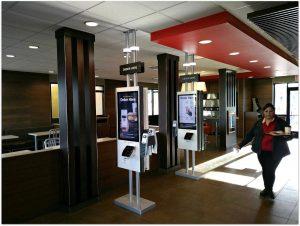 Restaurant interior remodel