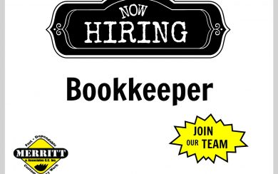 Hiring Construction Bookkeeper
