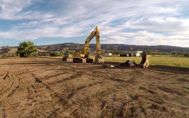 Construction project underway in Fruita