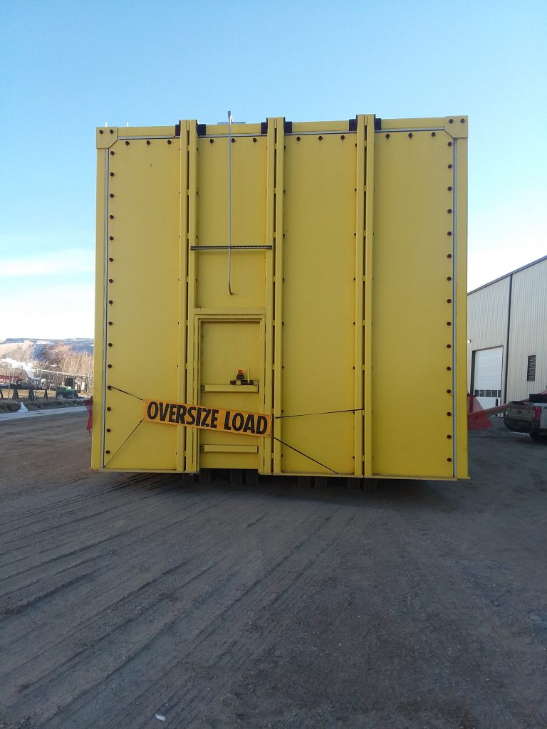 Hauling an oversized load through Grand Junction