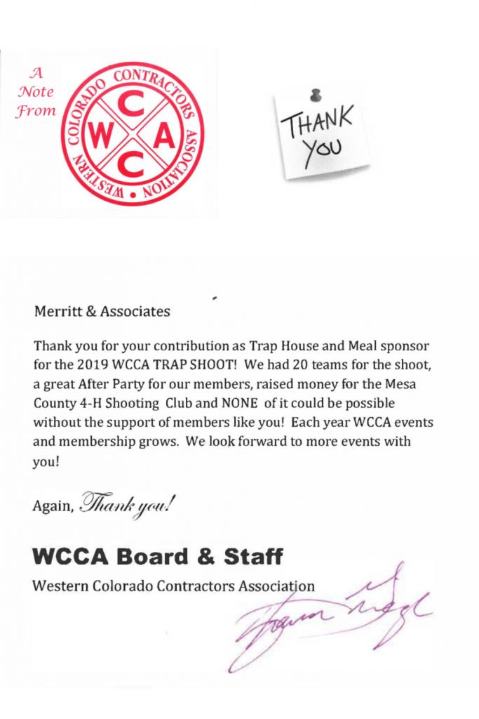 WCCA Trap Shoot