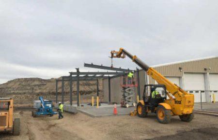 We Erect Custom Steel Buildings