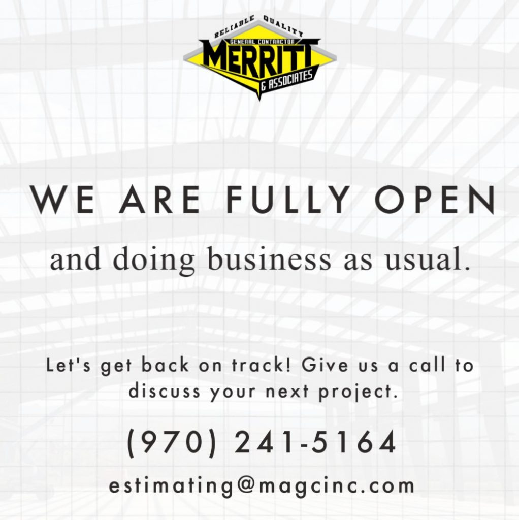 We are fully open and doing business as usual.